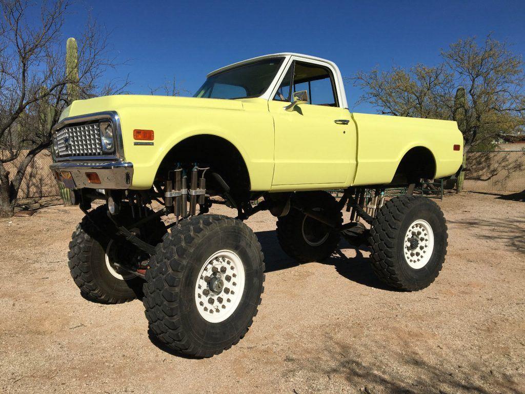 Street Legal 1972 Chevrolet K-10 Monster Truck