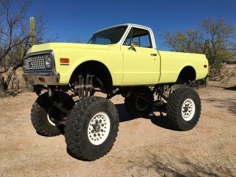 Street Legal 1972 Chevrolet K-10 Monster Truck for sale