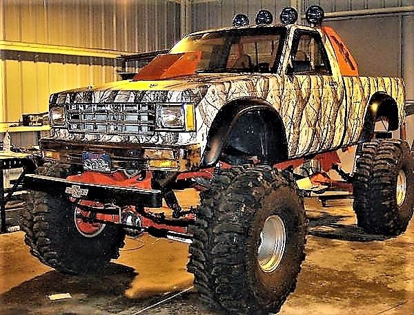 Dodge Fort Myers >> Street Legal 1987 Chevy S10 on a 1973 GMC/Chevy K5 Full size frame Monster Truck for sale