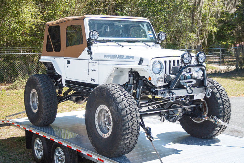 Rock Crawler 1997 Jeep Wrangler For Sale