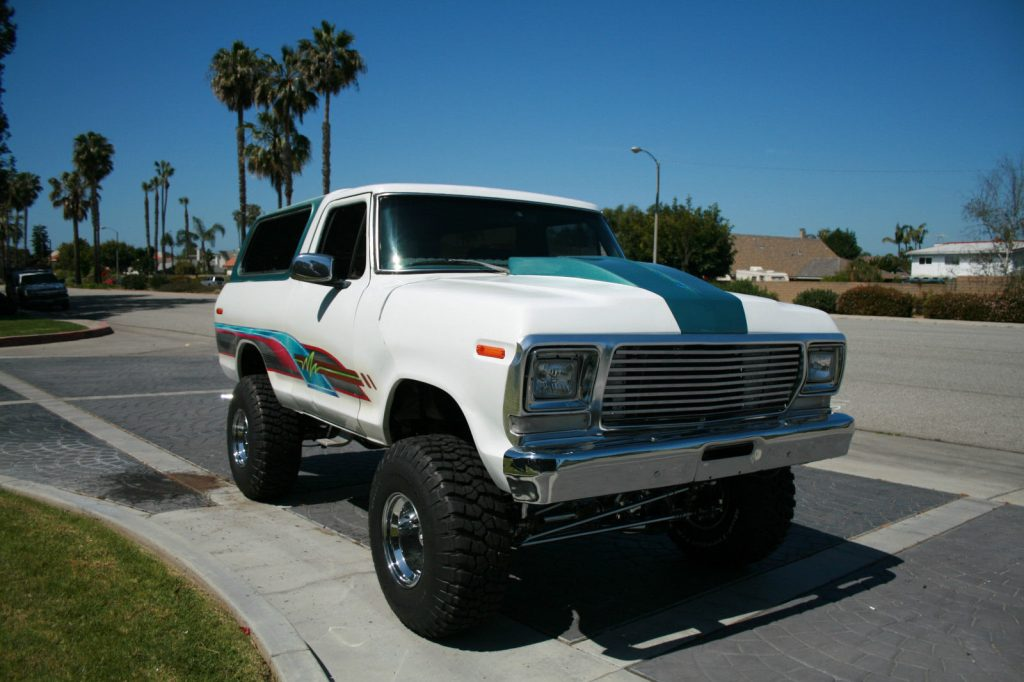 Show truck 1979 Ford Bronco Custom monster for sale