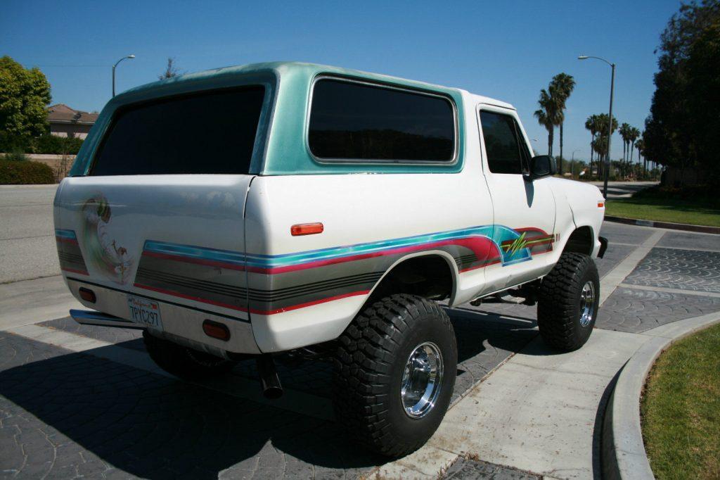 Show truck 1979 Ford Bronco Custom monster