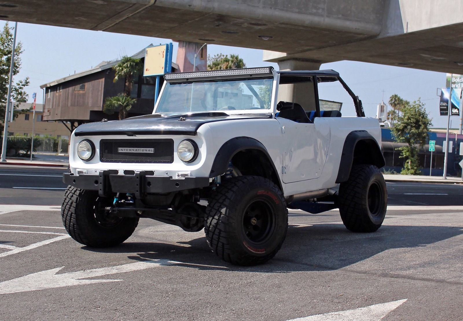 trophy truck 1963 international harvester scout 80 monster for sale. Black Bedroom Furniture Sets. Home Design Ideas