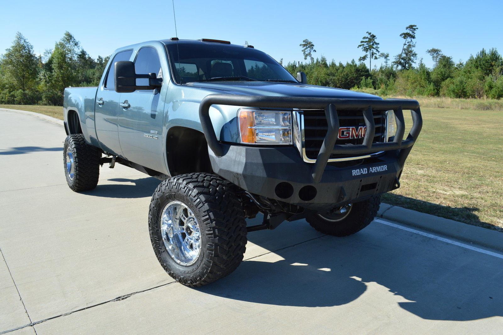 tuned 2010 gmc sierra 2500 slt monster truck for sale. Black Bedroom Furniture Sets. Home Design Ideas