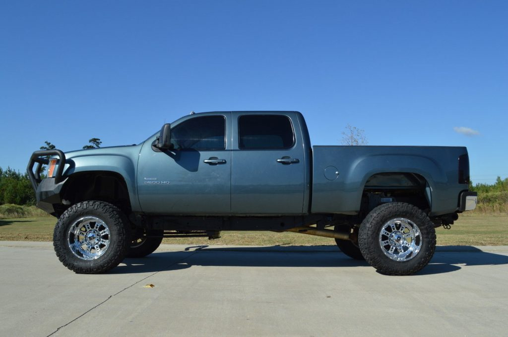 Tuned 2010 GMC Sierra 2500 SLT monster truck