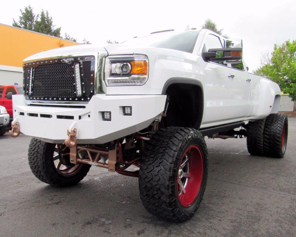 2015 GMC Sierra 3500 DENALI monster truck for sale