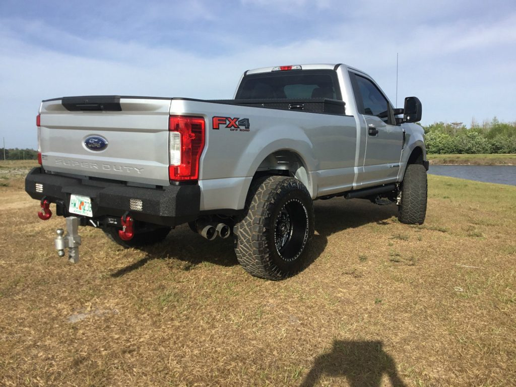 Almost New 2017 Ford F 250 Xl Standard Cab Monster Truck