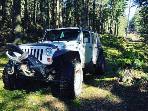 Always garaged 2013 Jeep Wrangler monster for sale