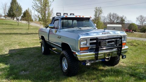 Awesome clean 1989 Dodge Pickups W150 monster for sale