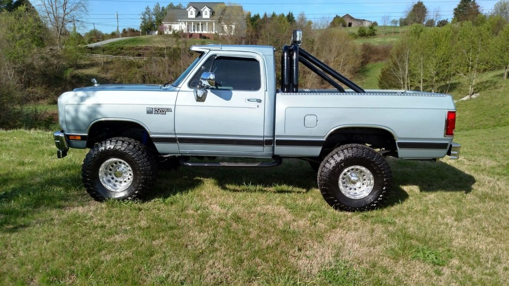 Monster Truck Dodge Ram >> Awesome clean 1989 Dodge Pickups W150 monster for sale