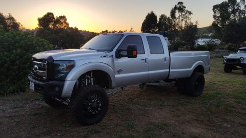 Custom built 2011 Ford F 350 Lariat monster truck for sale