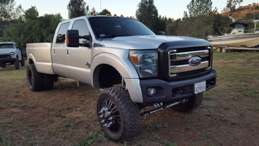 Custom built 2011 Ford F 350 Lariat monster truck