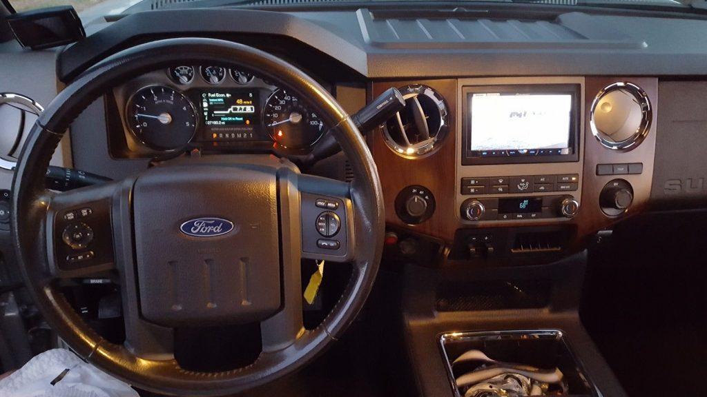 Custom built 2011 Ford F 350 Lariat monster truck