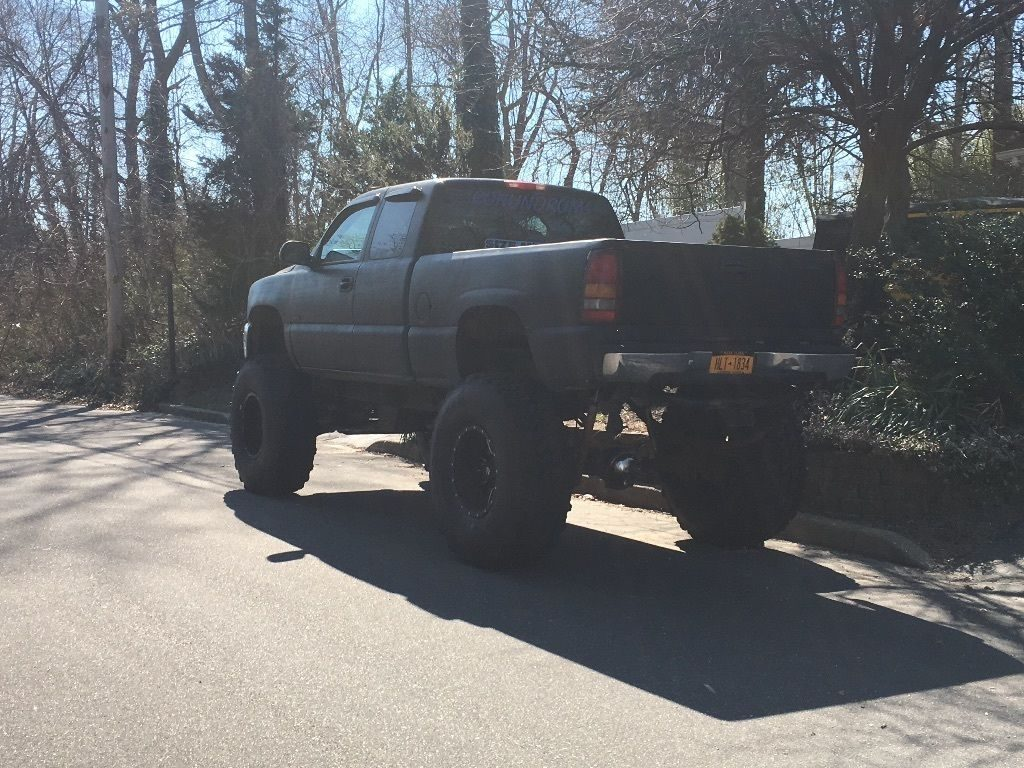 Huge Chevrolet Silverado Ls Monster Truck For Sale X on Chevy Extended Cab