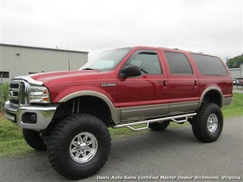 Impressive looking 2000 Ford Excursion Limited monster truck for sale