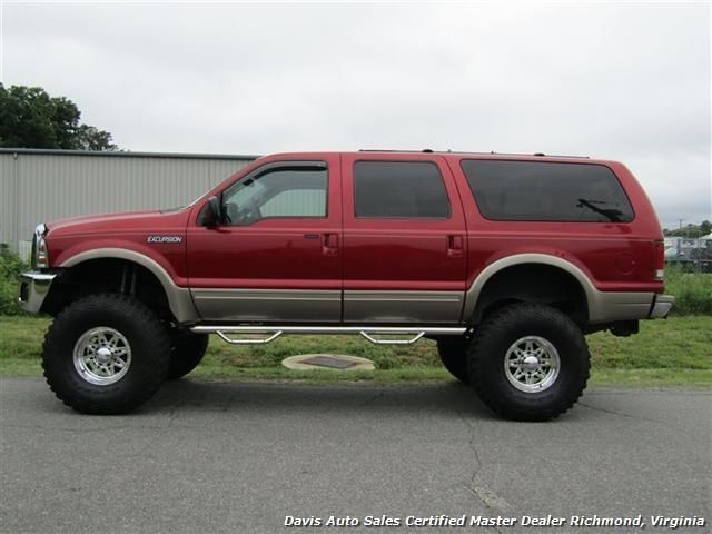 Impressive looking 2000 Ford Excursion Limited monster truck