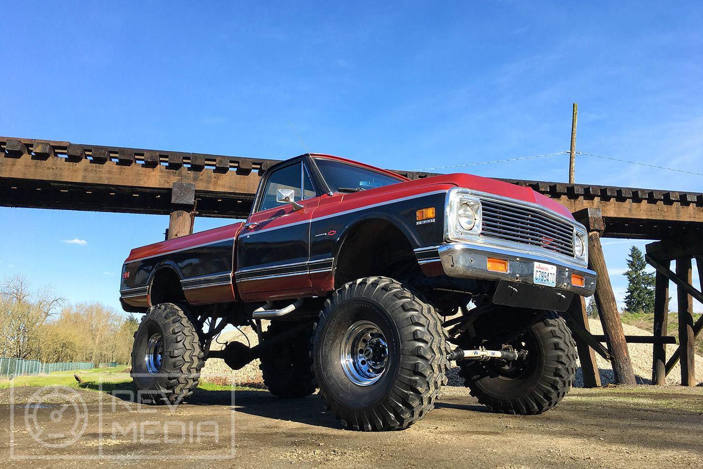 Lifted Beast 1971 Chevrolet C 10 Monster Truck For Sale