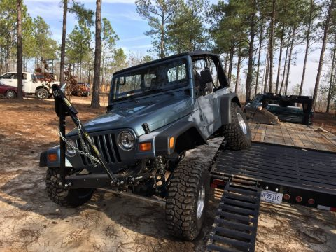 Modified 1997 Jeep Wrangler monster for sale