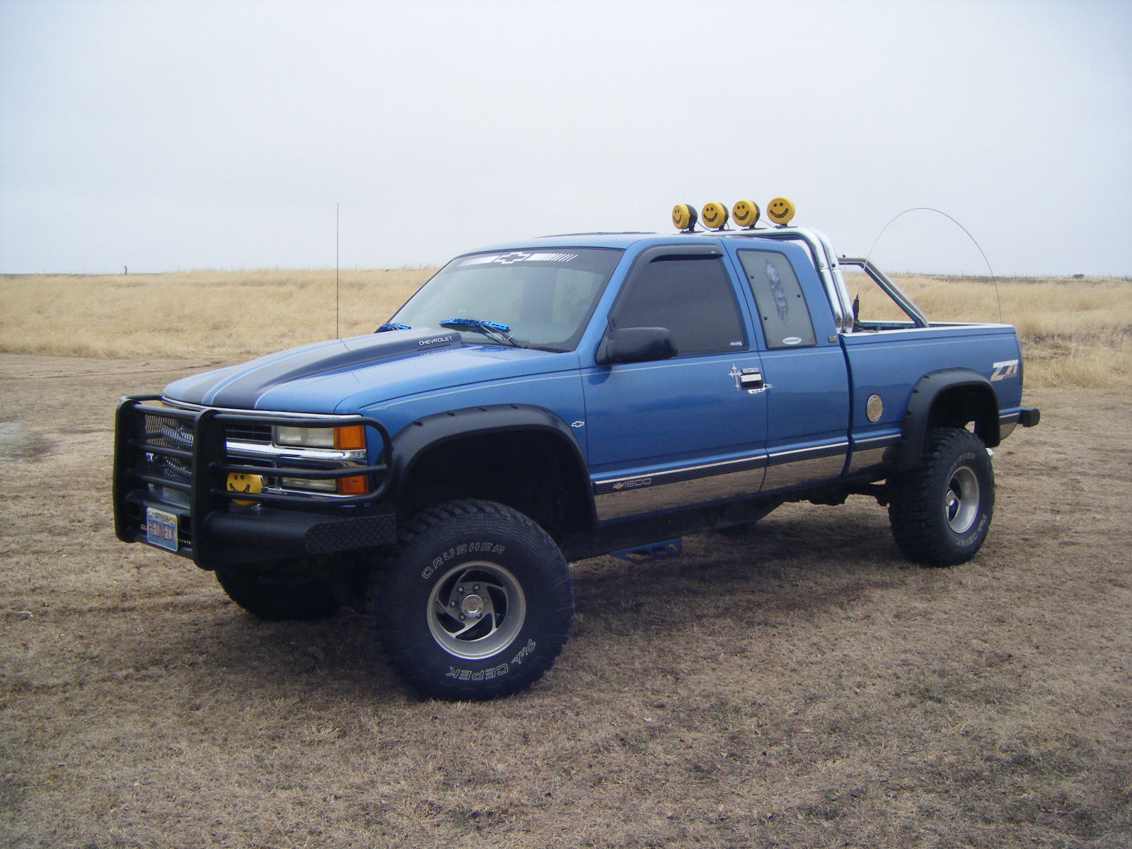 Rebuilt Engine 1995 Chevrolet Silverado 1500 Monster Truck