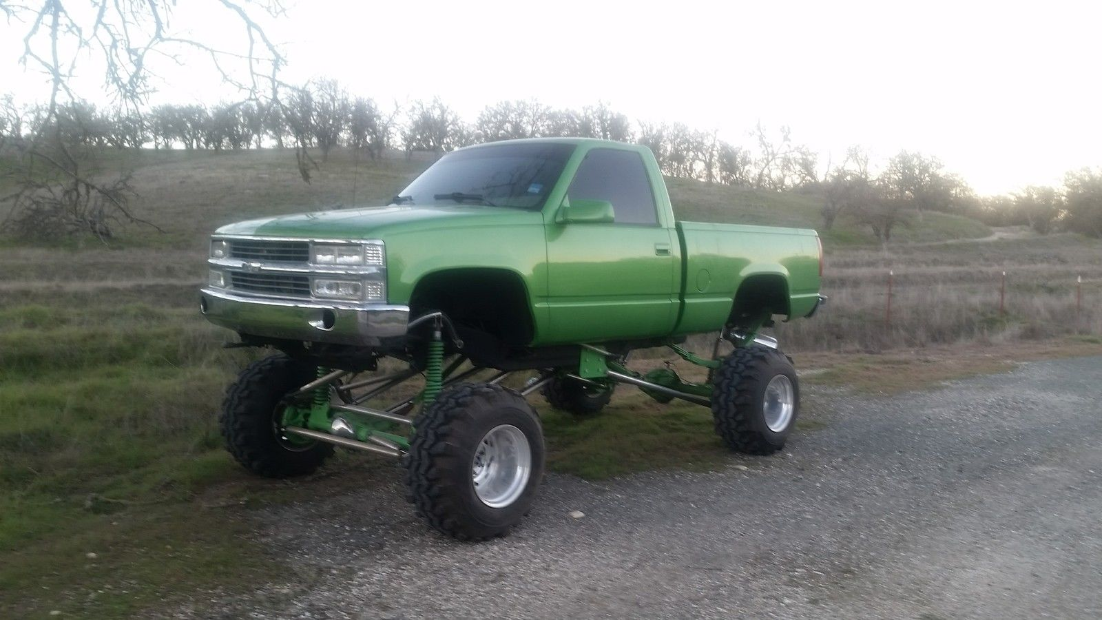 Show Truck 1992 Chevrolet C K Pickup 1500 Monster Truck