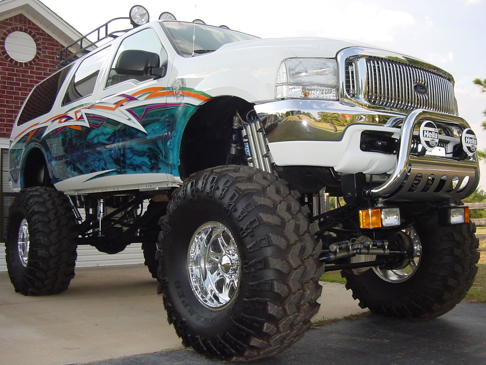 show winner 2000 ford excursion monster truck for sale. Black Bedroom Furniture Sets. Home Design Ideas