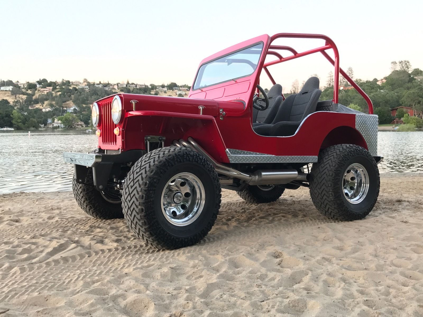 Totally Restored 1949 Willys Monster Vintage For Sale
