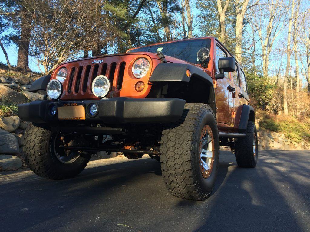 Always garaged 2011 Jeep Wrangler monster