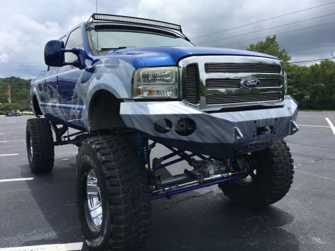 Custom built 2005 Ford F 250 Lariat monster truck for sale
