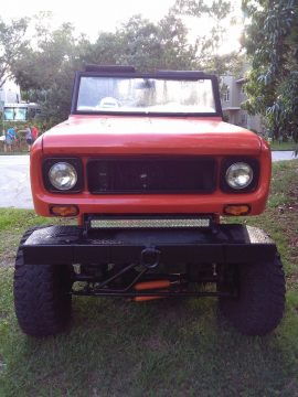 Custom convertible 1970 International Harvester Scout monster for sale