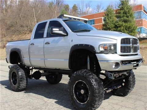 Decent mileage 2005 Dodge Ram 2500 SLT monster for sale