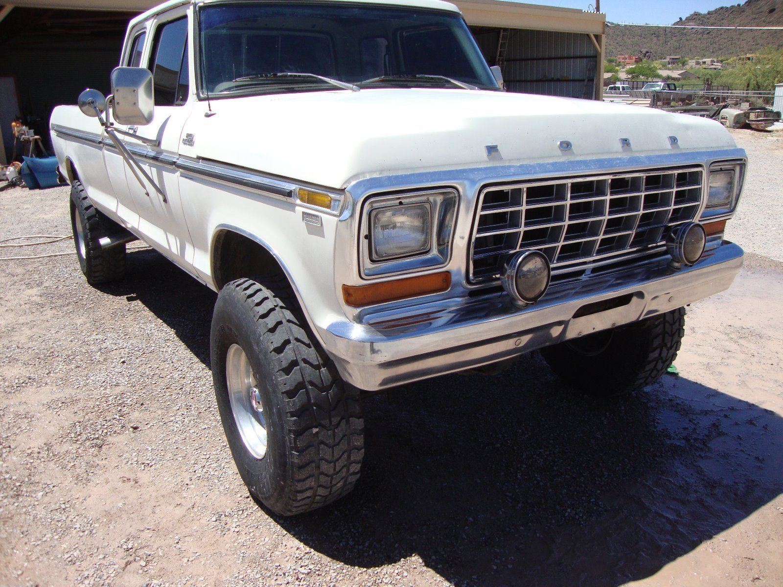 detroit diesel powered 1978 ford f 250 monster for sale. Black Bedroom Furniture Sets. Home Design Ideas
