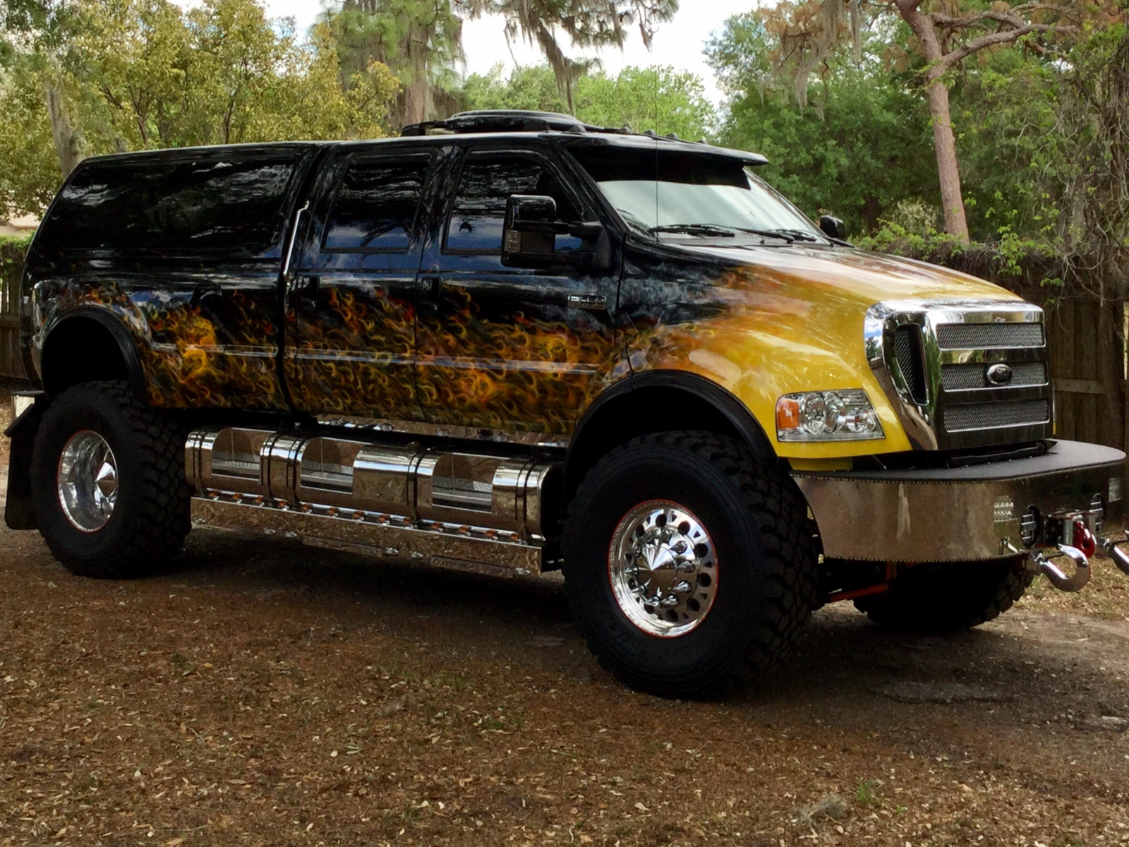 extreme badass 2007 ford pickups monster truck for sale. Black Bedroom Furniture Sets. Home Design Ideas