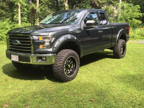 Low miles 2015 Ford F 150 XLT monster truck for sale