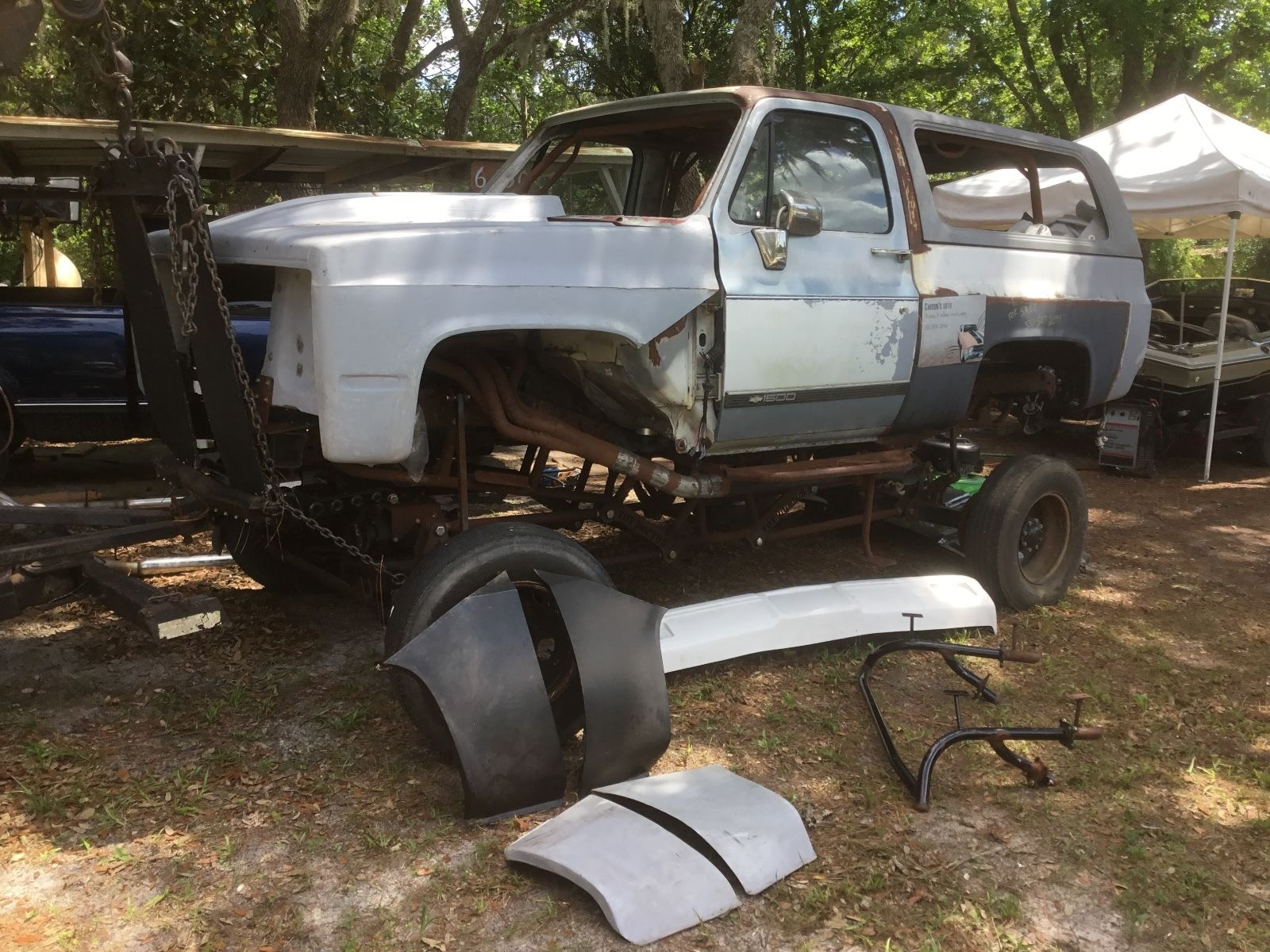 Project to build 1990 Chevrolet Silverado 1500 monster for ...