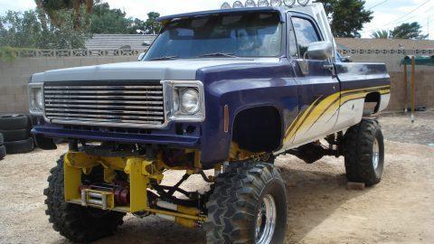 ROLL BAR Lights Winch 1978 Chevrolet Pickups 502 monster for sale