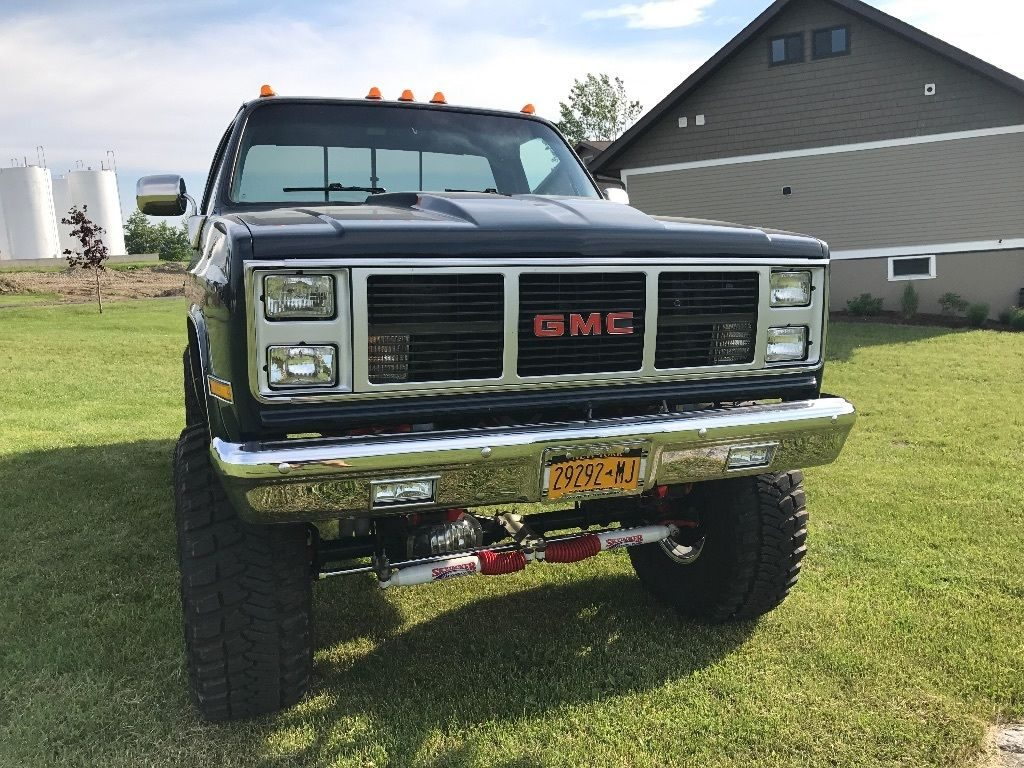 show truck 1985 gmc sierra 2500 monster truck for sale. Black Bedroom Furniture Sets. Home Design Ideas