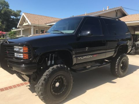 Super clean 1997 GMC Yukon Custom monster truck for sale