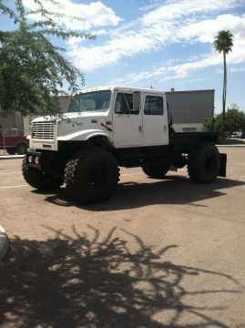 2000 International 4700 monster truck for sale