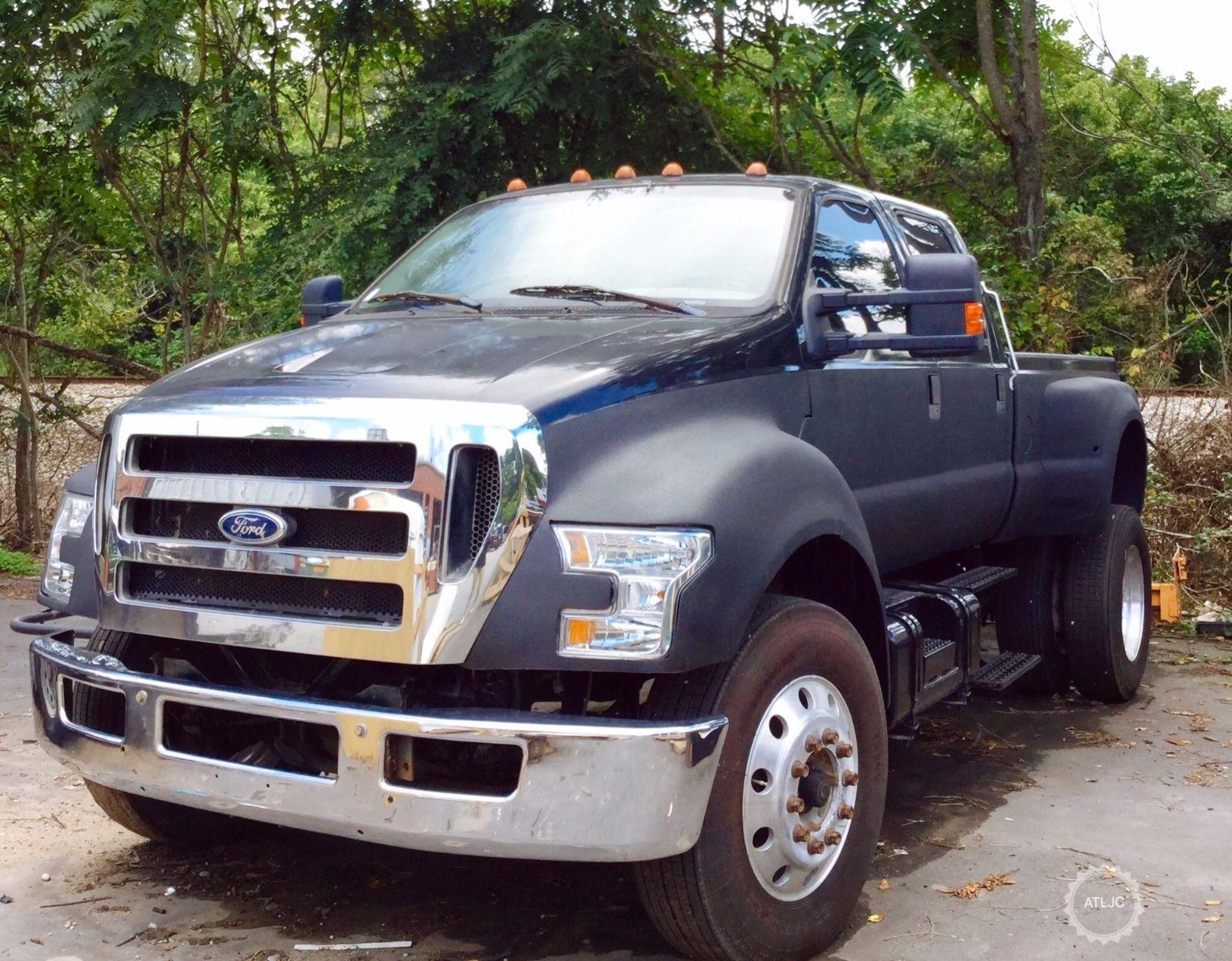 custom built 2000 ford pickups f650 monster for sale. Black Bedroom Furniture Sets. Home Design Ideas