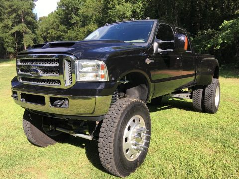 Dually 2006 Ford F 350 King Ranch monster for sale