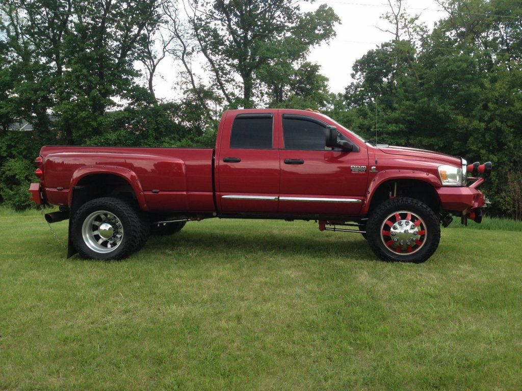 Airbags For Truck >> Equipped 2008 Dodge Ram 3500 Laramie monster beast for sale