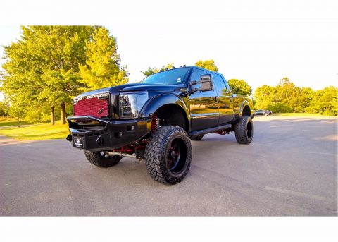 expertly detailed 2016 Ford F 250 platinum monster for sale