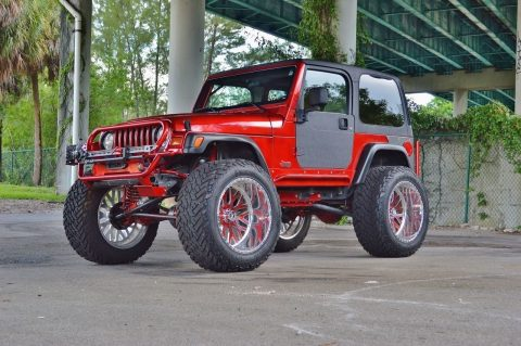 Frame off restored 1997 Jeep Wrangler Custom TJ SPORT monster for sale