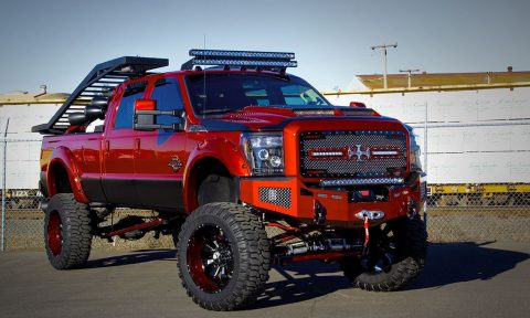 Fully loaded 2014 Ford F 350 King Ranch Crew Cab monster for sale