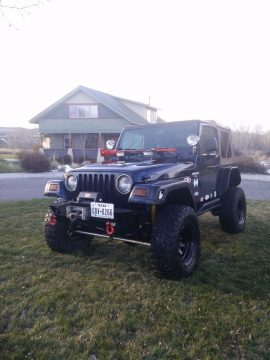 Garaged 1997 Jeep Wrangler monster for sale