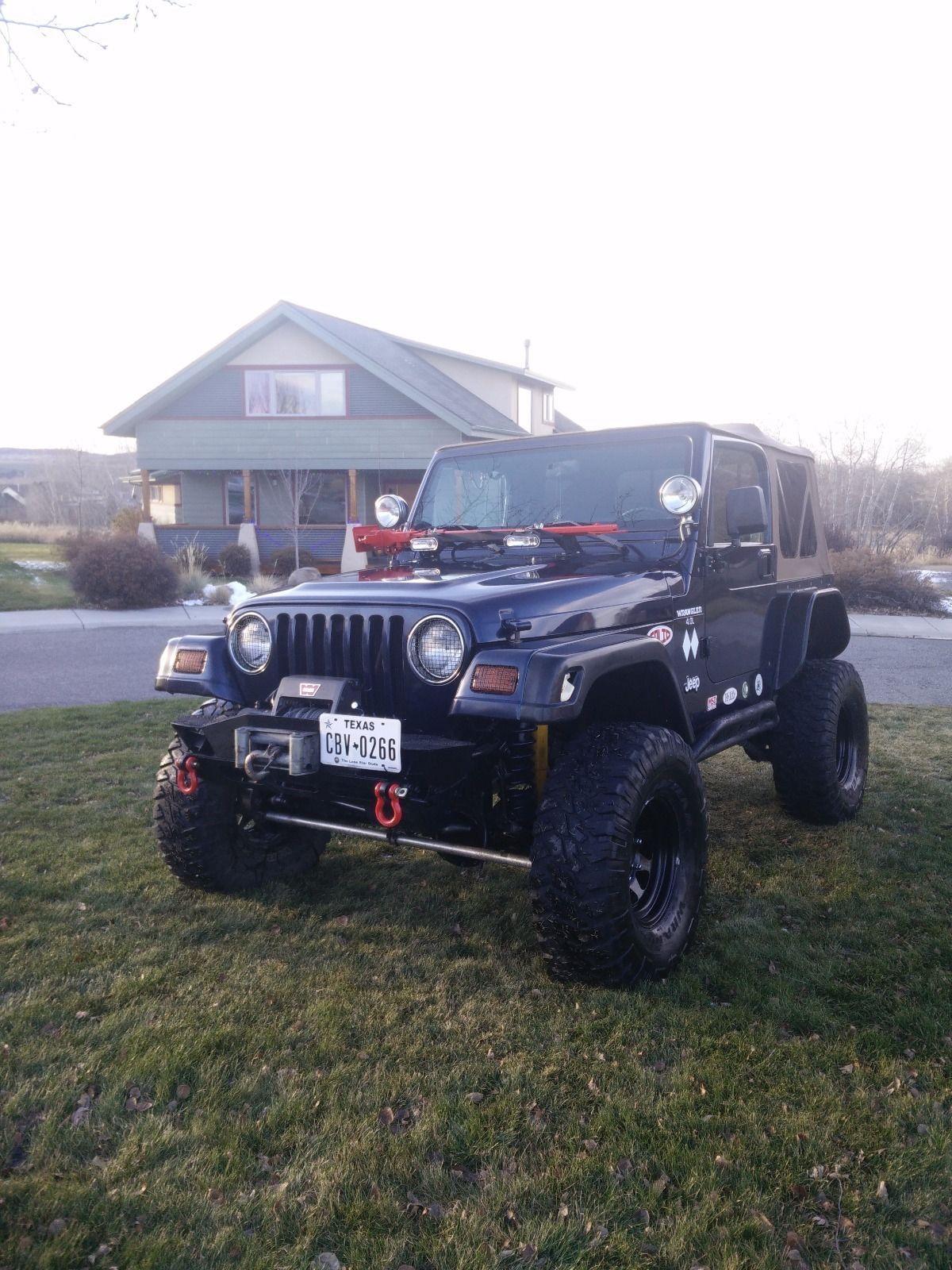 Garaged 1997 Jeep Wrangler Monster For Sale