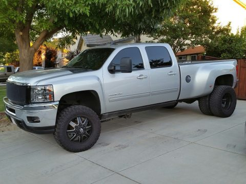 One of a kind 2014 Chevrolet Silverado 3500 LTZ monster truck for sale