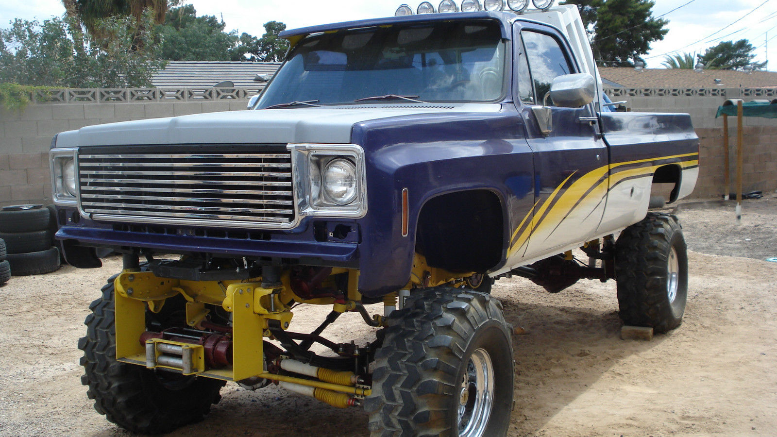 Van Chevrolet Scottsdale >> Roll bar 1978 Chevrolet Pickup monster truck for sale