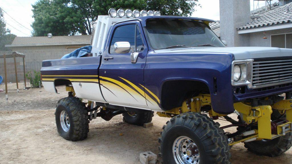 Lifted Chevrolet Tahoe >> Roll bar 1978 Chevrolet Pickup monster truck for sale