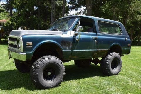 Strong frame 1970 Chevrolet Blazer CST monster for sale